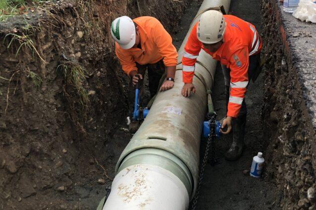 Acquedotti, gasdotti, oleodotti, opere di irrigazione e di evacuazione